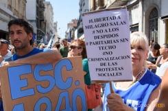 Proclamas en el acto de Rioja y Mitre Primer paro nacional a Macri Se realizó el primer paro nacional de empleados estatales en la era Macri #Proyecto341 #ParoNacional #Macri #ATE #fotoperiodismo #Rosario PH: Sebastian Criado , reservados todos los derechos / all rights reserved