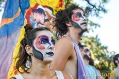 Miembros de otra murga esperan para su participación. © Sebastian Criado, proyecto341.com reservados todos los derechos / all rights reserved