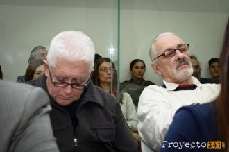 Dos de los acusados. Juan Andrés Cabrera, Ariel Antonio López. Fotografía: © Sebastián Criado, proyecto341.com reservados todos los derechos / all rights reserved